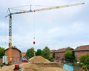 2.75t Liebherr 26 K.1 Self-Erecting Tower Crane
