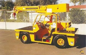 Broderson IC-35-2B 4-Ton Carry Deck Crane