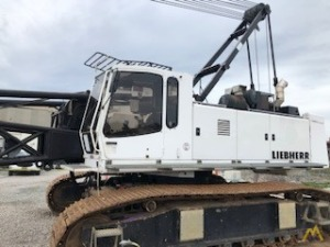 2000 Liebherr HS 853 HD 100-Ton Duty Cycle Crawler Crane