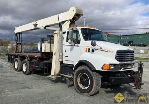 2000 National 1195 28-Ton Boom Truck Crane