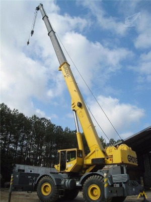 2001 Grove RT700E 60-Ton Rough Terrain Crane