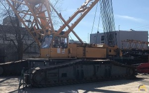 2001 Liebherr LR 1400 400-Ton Lattice Boom Crawler Crane