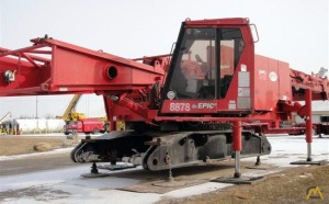 2001 Manitowoc 2250 300-Ton Lattice Boom Crawler Crane