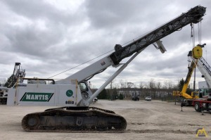 2001 Mantis 6010 30-Ton Telescopic Crawler Crane
