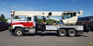 National Series 500 Model 15103 36-ton Boom Truck Crane on Mack