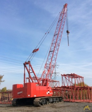 2002 Manitowoc 222 100-Ton Crawler Crane For Rent Or