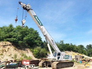 2002 Mantis 14010 70-Ton Telescopic Crawler Crane