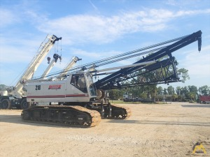 2003 Link-Belt LS-218H II 110-Ton Lattice Boom Crawler Crane