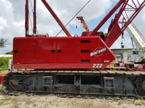 2003 Manitowoc 222 100-Ton Lattice Boom Crawler Crane