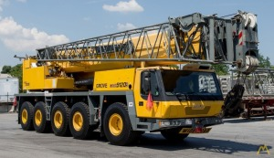 2004 Grove GMK-5120B  120 US ton (100 metric ton) All Terrain Crane with Very Strong Chart