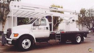 2004 Lift-All 55' Insulated Overcenter Aerial Device