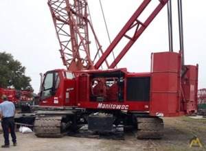 2005 Manitowoc 555 Series 2 150-Ton Lattice Boom Crawler Crane