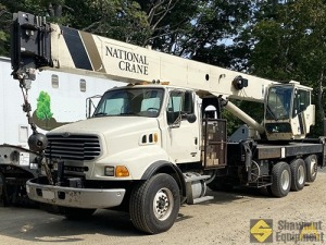 2005 National 18142 40-Ton Boom Truck Crane