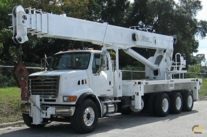 2006 Altec AC35-127S 35-Ton Boom Truck Crane Mounted on 2006 Sterling LT7500