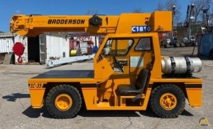 2006 Broderson IC-35-2B 3.5-Ton Carry Deck Crane