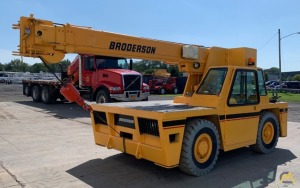 2006 Broderson IC80-3G 9-Ton Carry Deck Crane