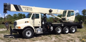 2006 NATIONAL 14127 33 TON, STERLING 4 AXLE FLORIDA