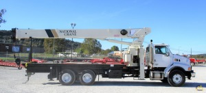 National 9103A 26-ton Boom Truck Crane on Sterling LT9513