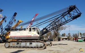 2006 Terex HC 165 165-Ton Lattice Boom Crawler Crane