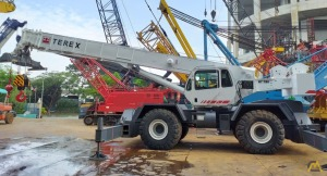 2006 Terex RT 780, 80 Ton Rough Terrain Crane