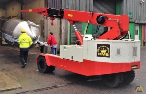 2007 Galizia G120E 12-Ton Electric Pick & Carry Crane