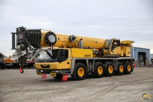 GROVE GMK5165 165 US Ton Class (130 Metric Ton) All Terrain Crane