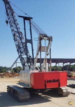 2007 Link-Belt 138H5 80-Ton Lattice Boom Crawler Crane