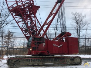 2007 Manitowoc 14000 S2 220-Ton Lattice Boom Crawler Crane
