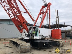2007 Manitowoc 2250 300-Ton Lattice Boom Crawler Crane