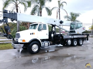 National 1800 Series 18127 40-Ton Boom Truck Crane on Sterling