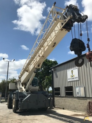 2007 Terex RT 780 80-Ton Rough Terrain Crane
