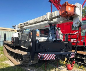 2008 Altec AC26-95S 26-Ton on Camoplast GT3000 Tracked Carrier