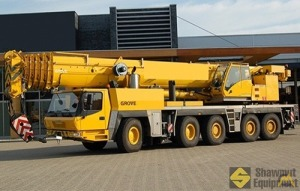 2008 Grove GMK5225 225-Ton All Terrain Crane