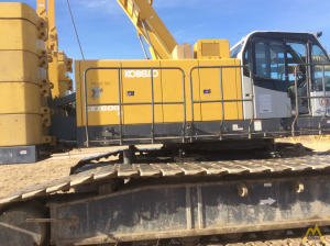 2008 Kobelco CK-1600-II 160-Ton Lattice Boom Crawler Crane