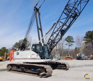 2008 Link-Belt 138HSL 80-Ton Lattice Boom Crawler Crane