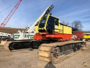 2008 Manitowoc 14000 220-Ton Lattice Boom Crawler Crane