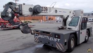 2009 9t Shuttlelift CD3339 Industrial Carry Deck Crane