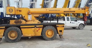 2009 Broderson IC-200-3G 15-Ton Carry Deck Crane