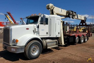 2009 National 800D 23-Ton Boom Truck Crane Mounted on a Peterbilt 365 w/ Sleeper
