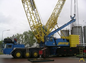 Demag TC 1200 200-ton Lattice Boom Truck Crane