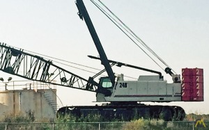200t Link-Belt LS-248H-5 Lattice Boom Crawler Crane