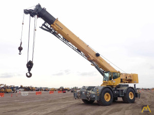 2010 Grove RT760E 60-Ton Rough Terrain Crane