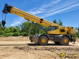 2010 Grove RT890E 90-Ton Rough Terrain Crane