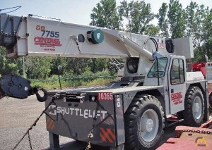 2010 Shuttlelift 7755 22-Ton Carry Deck Crane