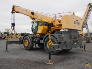 Grove RT760E-4 60-Ton Rough Terrain Crane