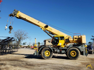2011 GROVE RT760E-4 60-Ton Rough Terrain Crane
