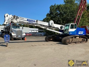 2011 Mantis 6010 30-Ton Telescopic Crawler Crane