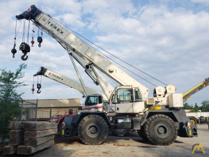 2011 Terex RT 670 70-Ton Rough Terrain Crane