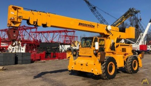 2012 Broderson RT300 15-Ton Down Cab Rough Terrain Crane