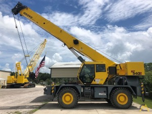 2012 Grove RT540E 40-Ton Rough Terrain Crane